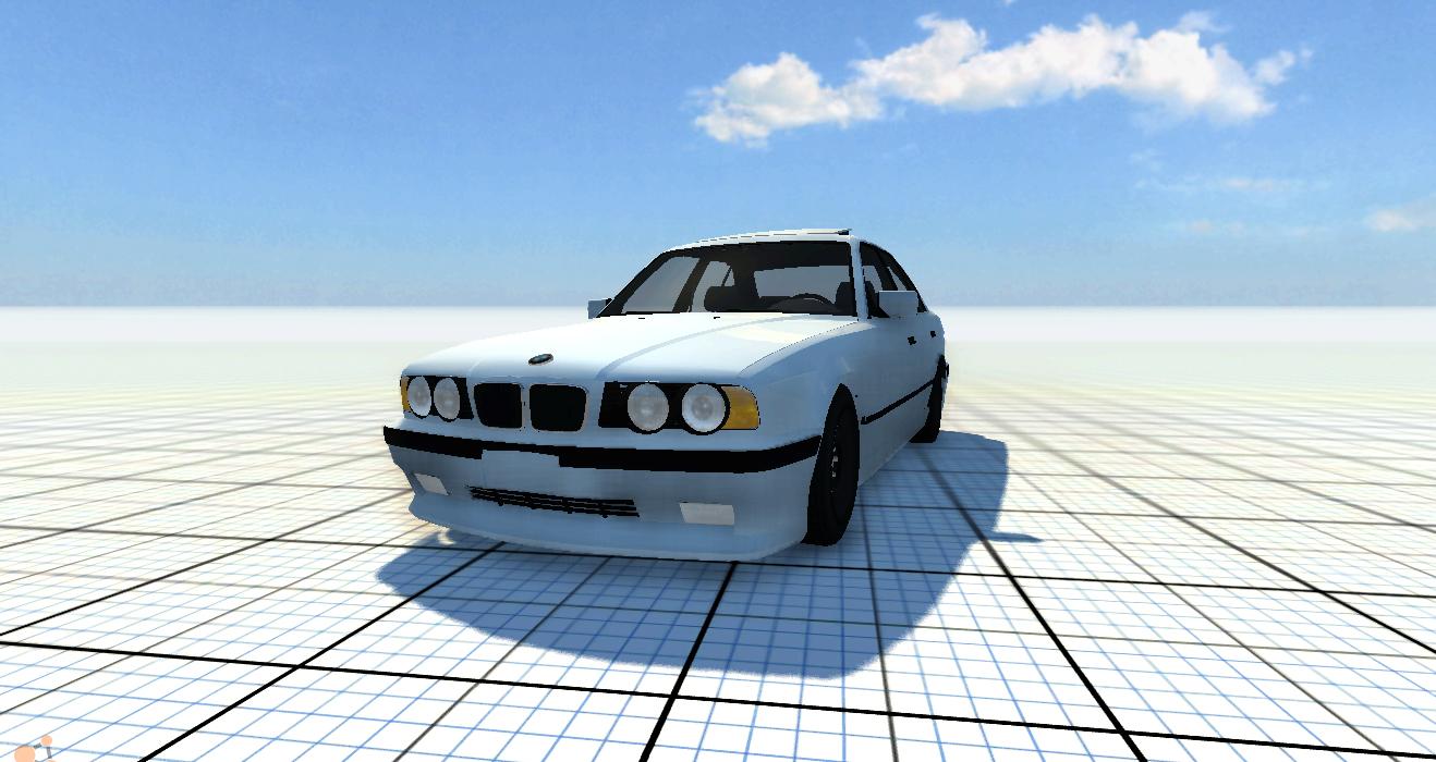 Скачать мод машину BMW 540i для BeamNG Drive