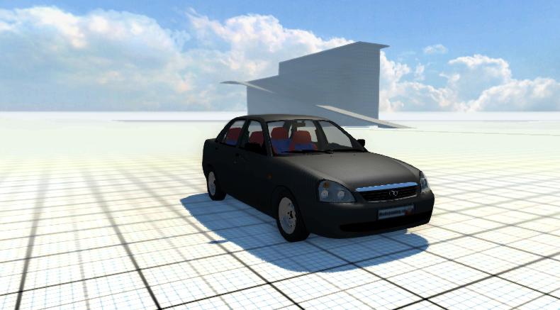 Скачать машину Lada Priora Turbo для BeamNG Drive