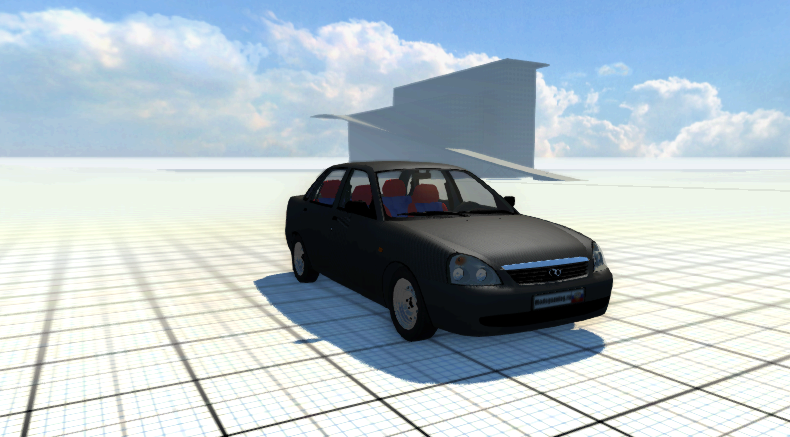Скачать мод машину Lada Priora Turbo для BeamNG Drive