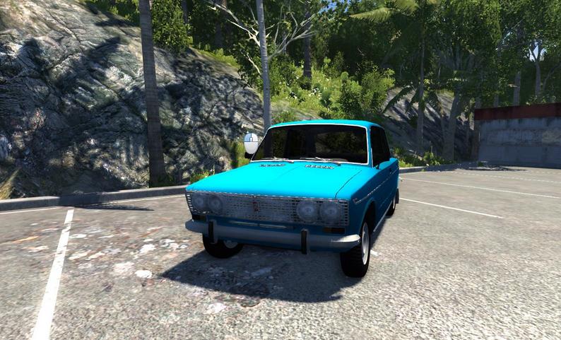 Скачать мод машину ВАЗ 2103 для BeamNG Drive