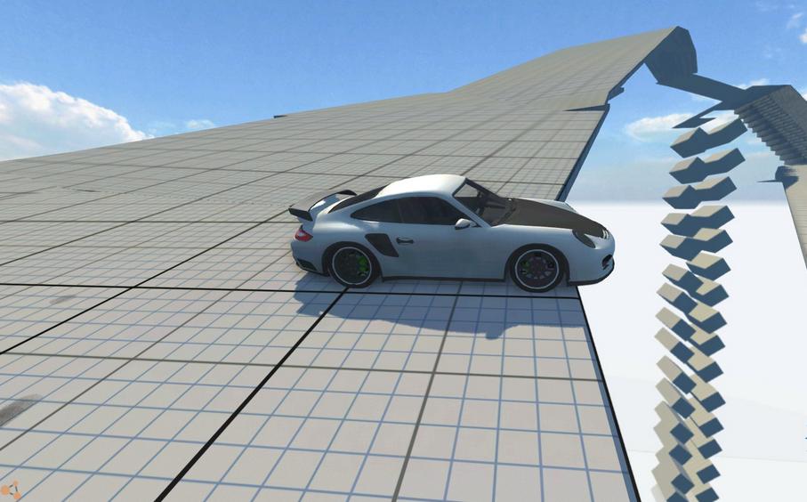 Скачать мод карта The Descent 2 для BeamNG Drive
