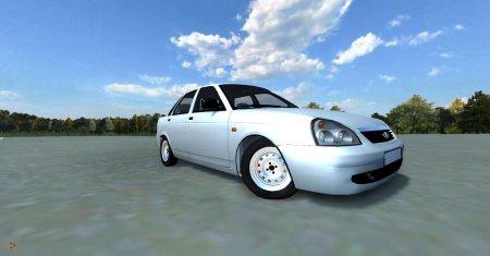 Скачать мод машину Lada Priora для BeamNG Drive