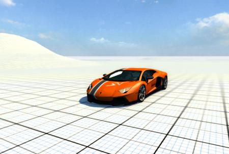 Скачать мод машину Lamborghini Aventador для BeamNG Drive