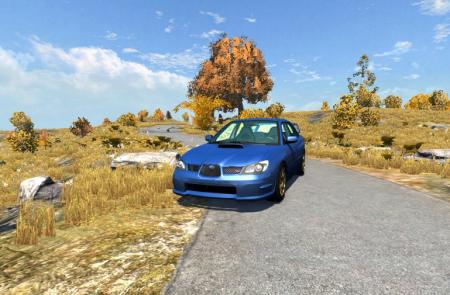Скачать мод Subaru WRX STI для BeamNG Drive