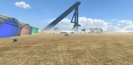 Скачать мод карта Insane Testing для BeamNG Drive