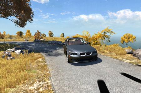 Скачать машину BMW M5 для BeamNG Drive