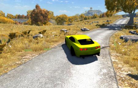 Скачать мод машину Chevrolet Camaro для BeamNG Drive