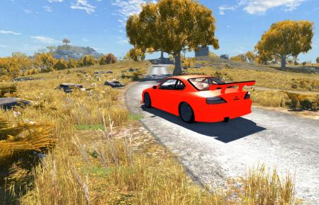 Скачать мод машину Nissan Silvia для BeamNG Drive
