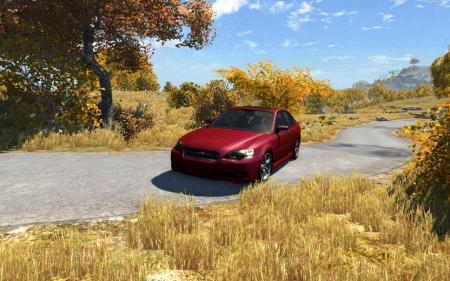 Скачать машину Subaru Legacy B4 для BeamNG Drive