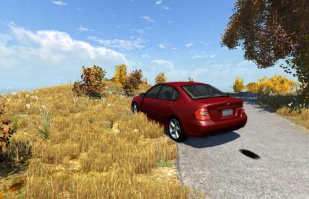 Скачать мод Subaru Legacy B4 для BeamNG Drive