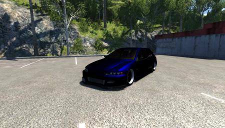 Скачать мод машину Honda Civic для BeamNG Drive