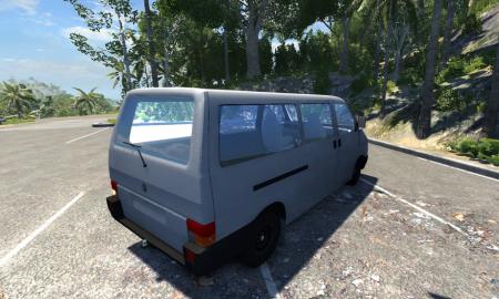 Скачать Volkswagen Transporter для BeamNG Drive