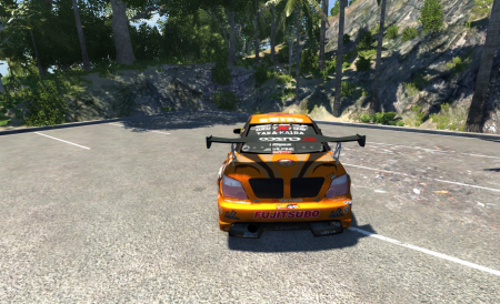 Скачать мод тюнингованная машина Subaru Impreza для BeamNG Drive