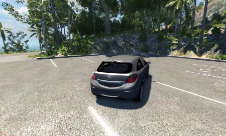 Скачать мод машину Opel Astra для BeamNG Drive