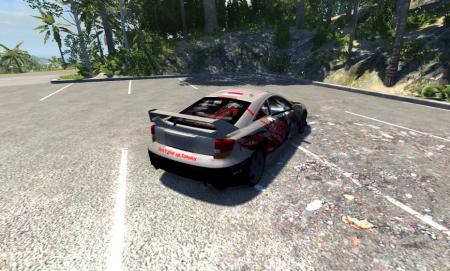 Скачать мод машину Toyota Celica для BeamNG Drive