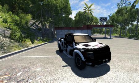 Скачать машину Ford для BeamNG Drive