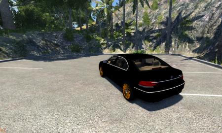 Скачать мод BMW 760Li E66 для BeamNG Drive