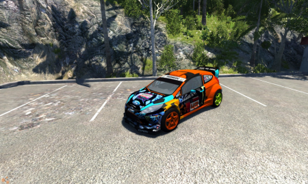 Скачать мод машину Ford Fiesta для BeamNG Drive