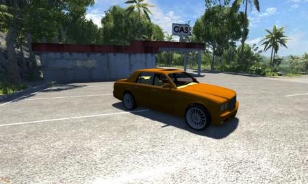 Скачать машину Bentley для BeamNG Drive