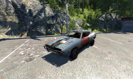 Скачать мод Авто из FlatOut 2 для BeamNG Drive