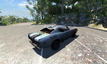 Машина из FlatOut 2 для BeamNG Drive