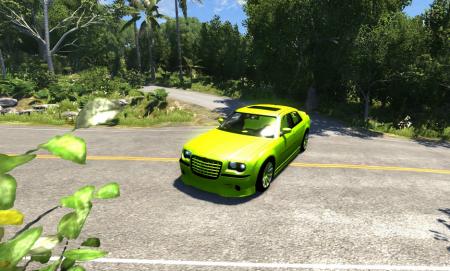 Скачать мод Chrysler 300C для BeamNG Drive