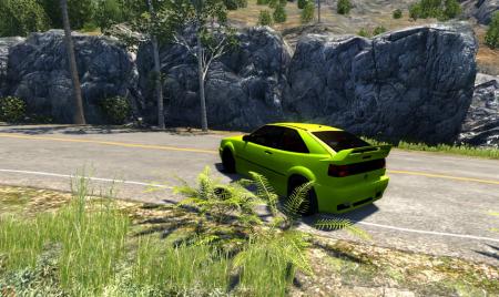 Скачать мод машину Volkswagen Corrado VR6 для BeamNG Drive