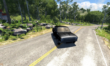 Машина ВОЛГА для BeamNG Drive