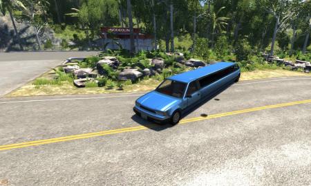 Скачать мод Limousine (Лимузин) для BeamNG Drive