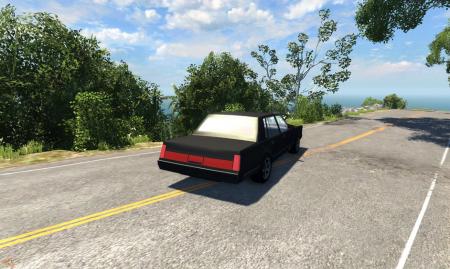 Скачать мод машину Lincoln Town (Линкольн) для BeamNG Drive