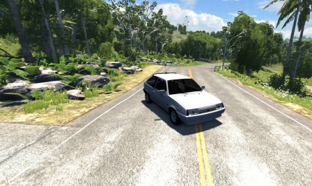 Скачать мод LADA (ЛАДА) 2108 для BeamNG Drive