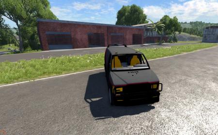 Скачать мод VAN Commando для BeamNG Drive