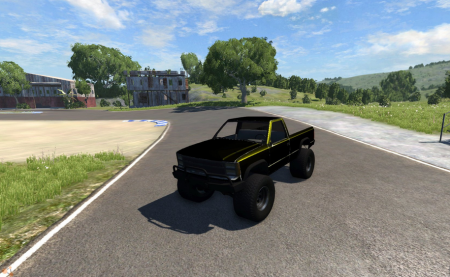 Скачать мод машину Mini Monster для BeamNG Drive