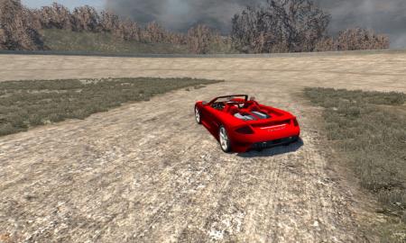 Скачать мод машину Porsche Carrera GT для BeamNG Drive