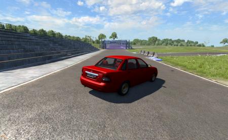 Скачать мод машину Лада Приора для BeamNG Drive