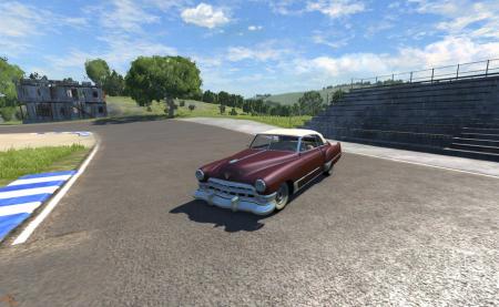 Скачать мод Cadillac для BeamNG Drive