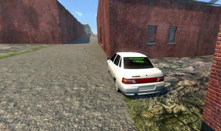 Скачать мод машину LADA (Лада) 2110 для BeamNG Drive