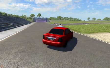 Скачать мод ЛАДА Приора для BeamNG Drive