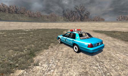 Скачать мод полицейская машина для BeamNG Drive