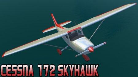 Скачать мод самолет Cessna 172 Skyhawk для BeamNG Drive