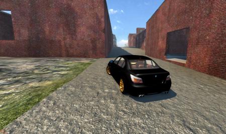 Скачать мод машину BMW M5 для BeamNG Drive