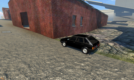 Скачать мод LADA (ЛАДА) 2109 для BeamNG Drive