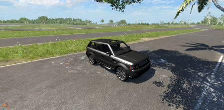 Скачать мод Range Rover Sport для BeamNG Drive