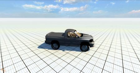 Скачать мод машину Dodge Ram для BeamNG Drive