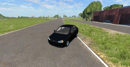 Скачать мод машину ЛАДА Калина для BeamNG Drive