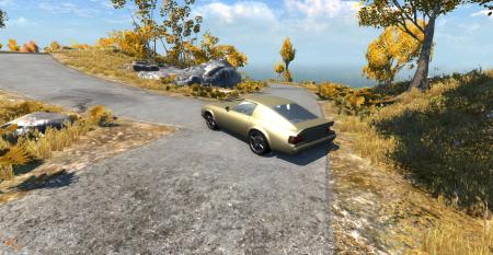 Скачать мод машину Lancia для BeamNG Drive