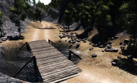 Скачать мод карта OffRoadMix для BeamNG Drive
