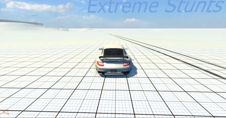 Скачать мод карта Extreme Stunts для BeamNG Drive
