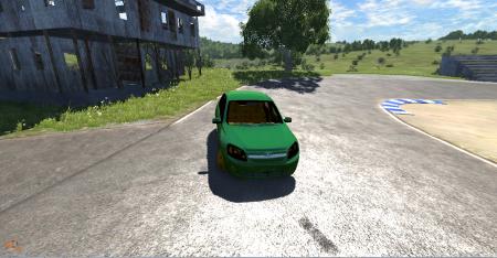 Скачать мод машину ЛАДА Гранта для BeamNG Drive