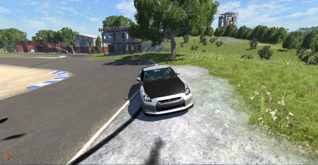 Скачать мод машину Nissan GTR для BeamNG Drive